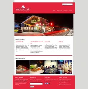 HOTEL_CRET_SITE_screenshot_hotel